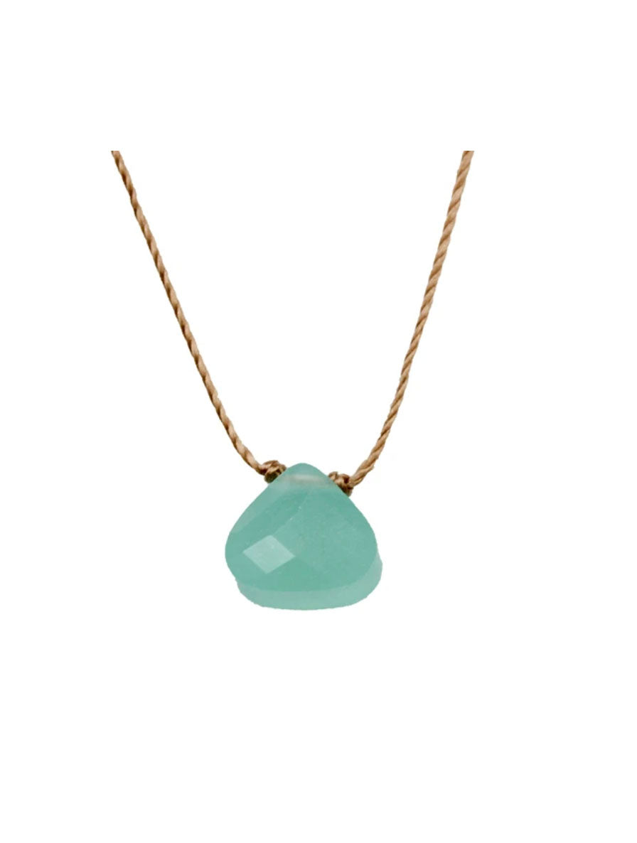 "SoulKu Jewelry Soul Shine ""Friendship"" Necklace in Turquoise"