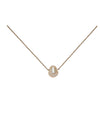 "SoulKu Jewelry Soul-Full of Light ""Goddess"" Necklace in Pearl"