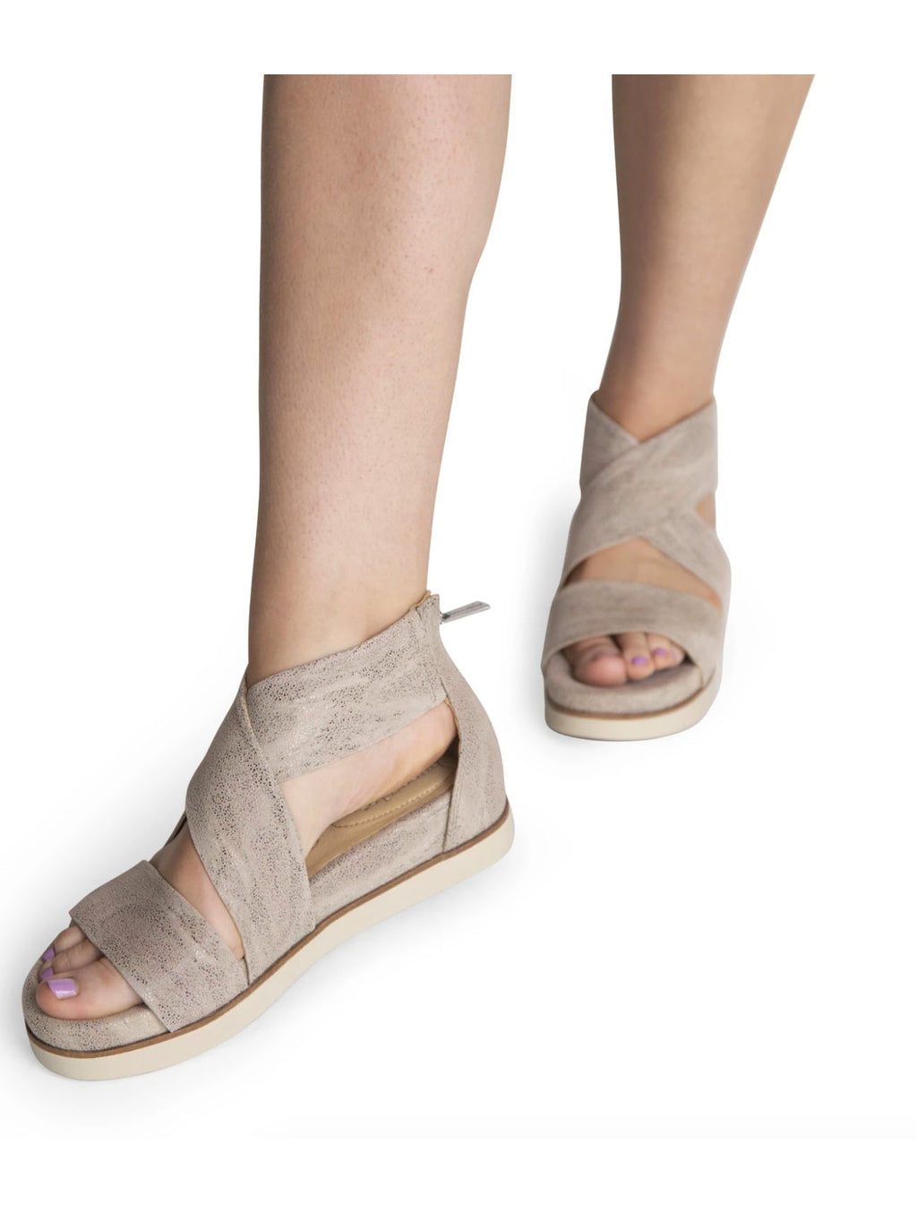 Bussola Phebe Sandal in Doeskin