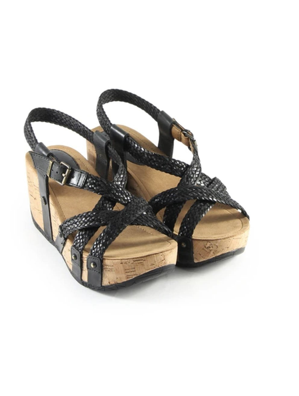 Bussola Fida Wedge in Black
