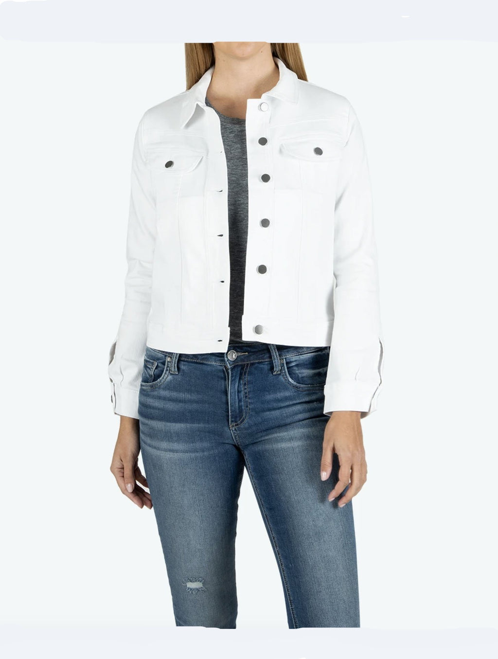 Kut Rene Jacket in White