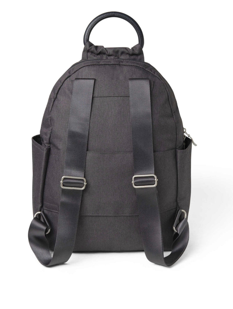 Baggallini All Day Backpack in Charcoal Heritage