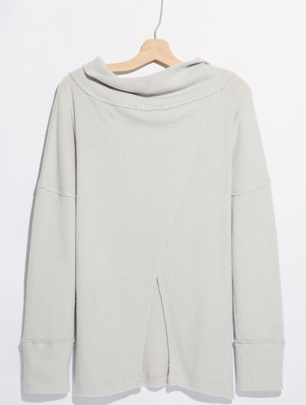 Free People Juicy Sweater in Grey Opal