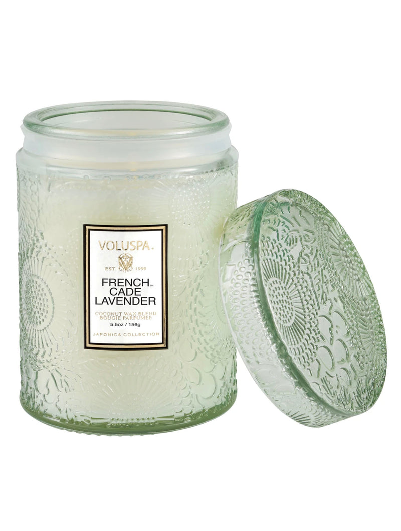 Voluspa Mini Glass Candle in French Cade