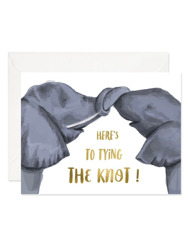 Good JuJu Knot Elephant Card