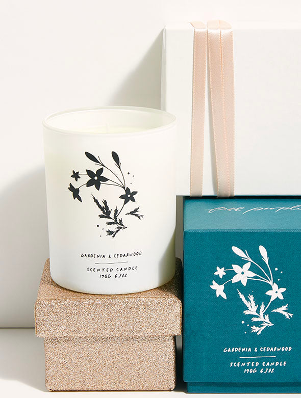 Free People Gardenia Cedarwood Candle