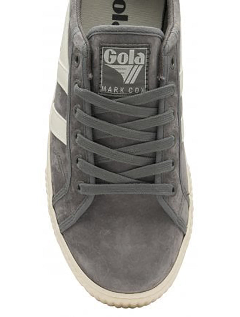 Gola Tennis Mark Cox Lace Up Sneaker in Ash/Off White
