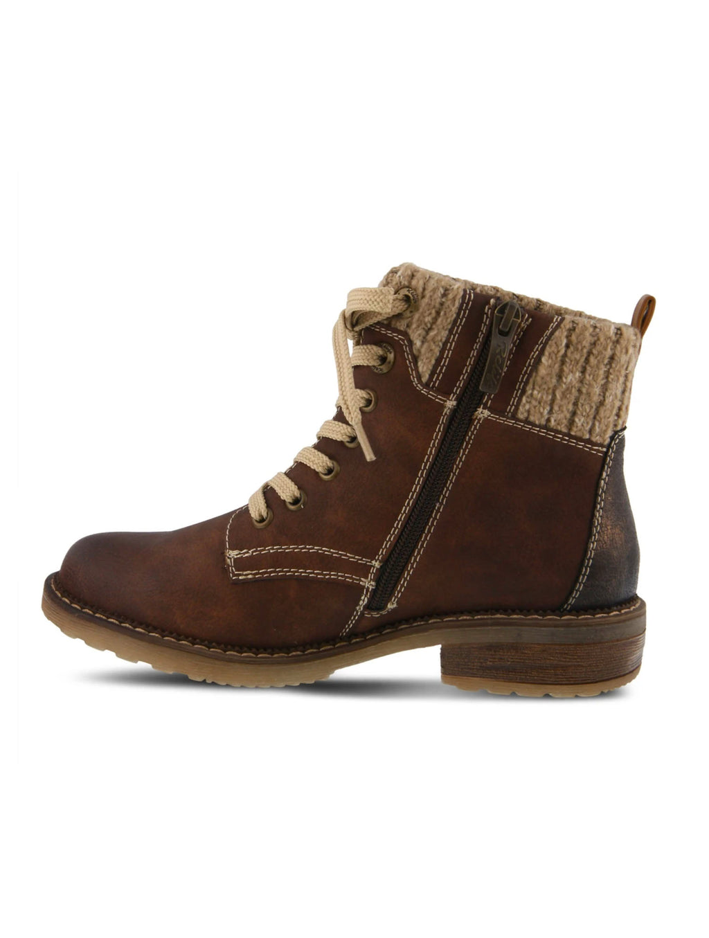 Spring Step Khazera Bootie in Brown