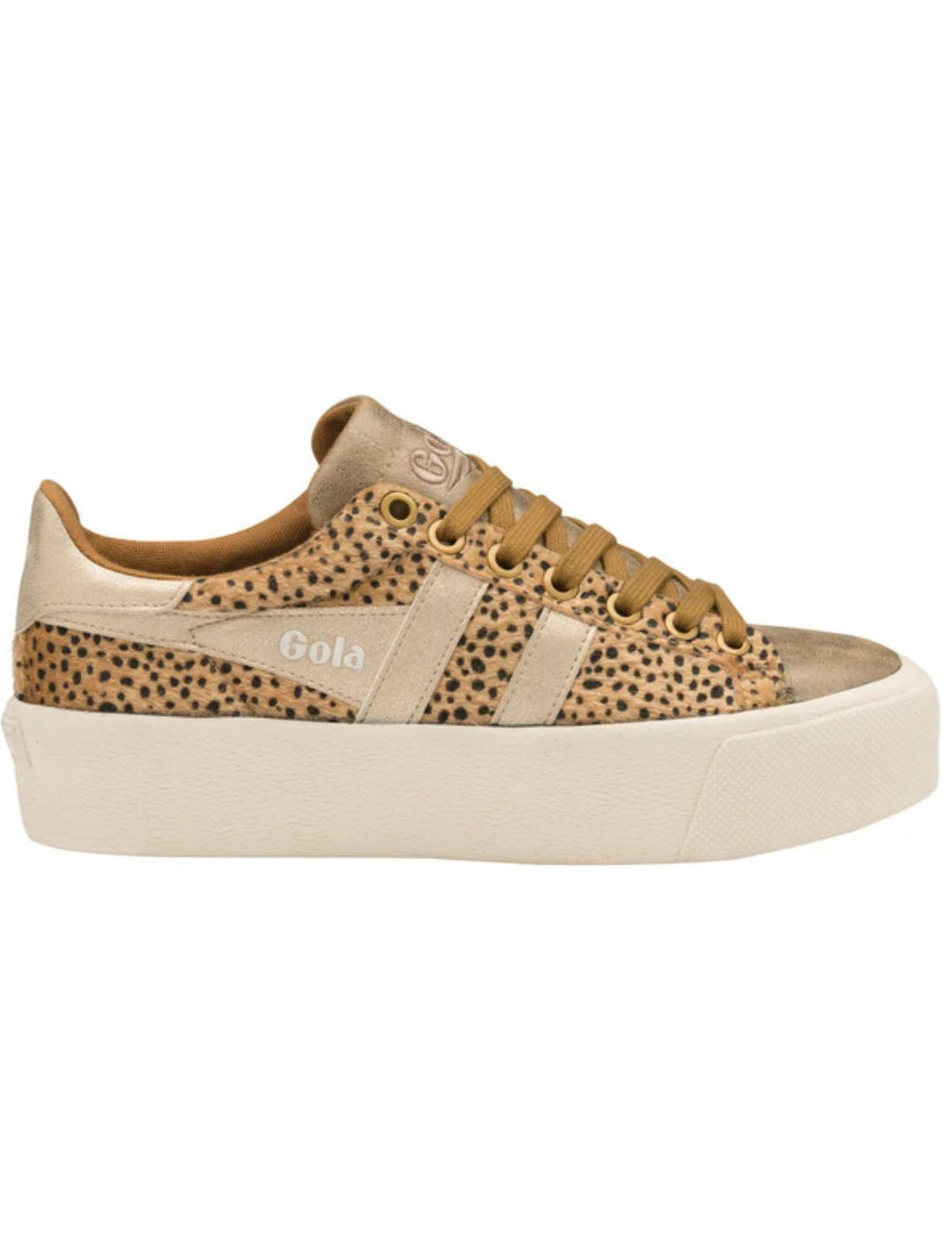 Gola Orchid Savanna Sneaker in Tan/Gold