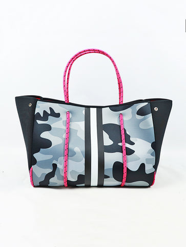 Haute Shore Greyson Tote in Monday Blue Camo
