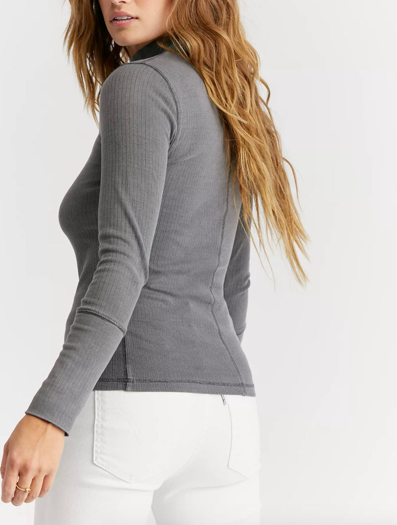 Free People Rickie Top in Grey