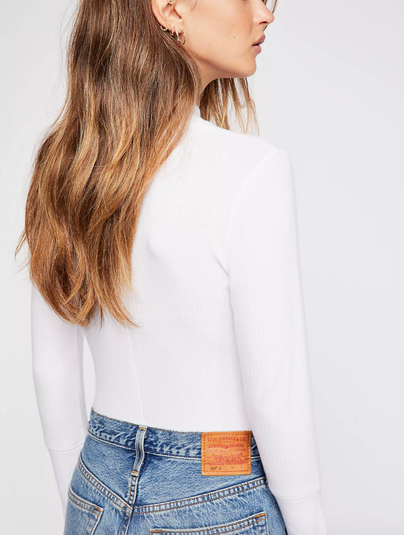Free People Rickie Top in White