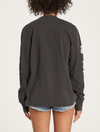 Billabong Hello Aloha Long Sleeve T-shirt in Black