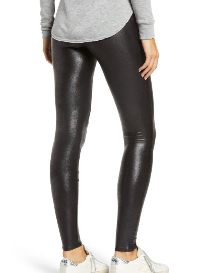 Spanx Faux Leather Legging in Black