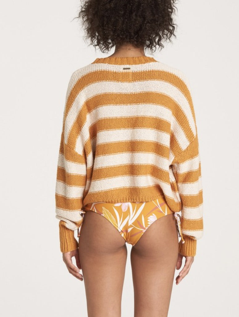 Billabong Til Sunset Sweater in Gold