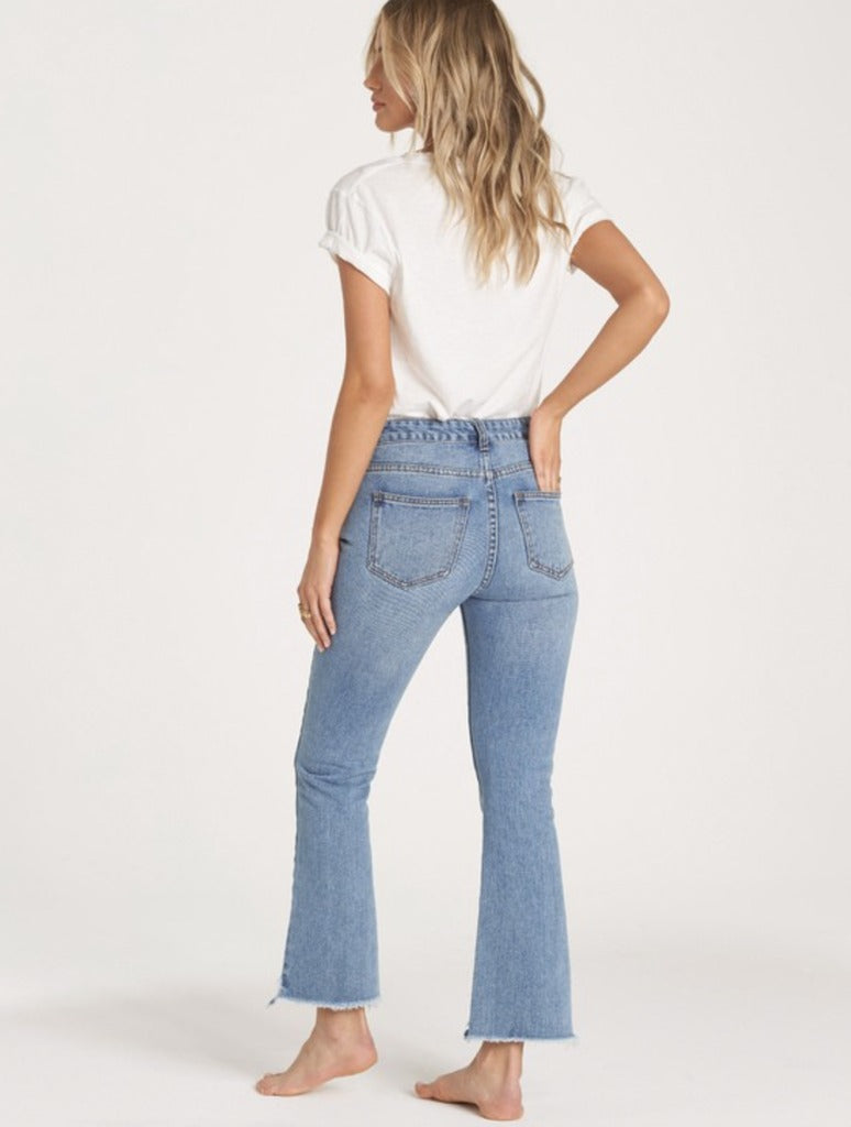 Billabong Cheeky Straight Leg Jeans in Indigo