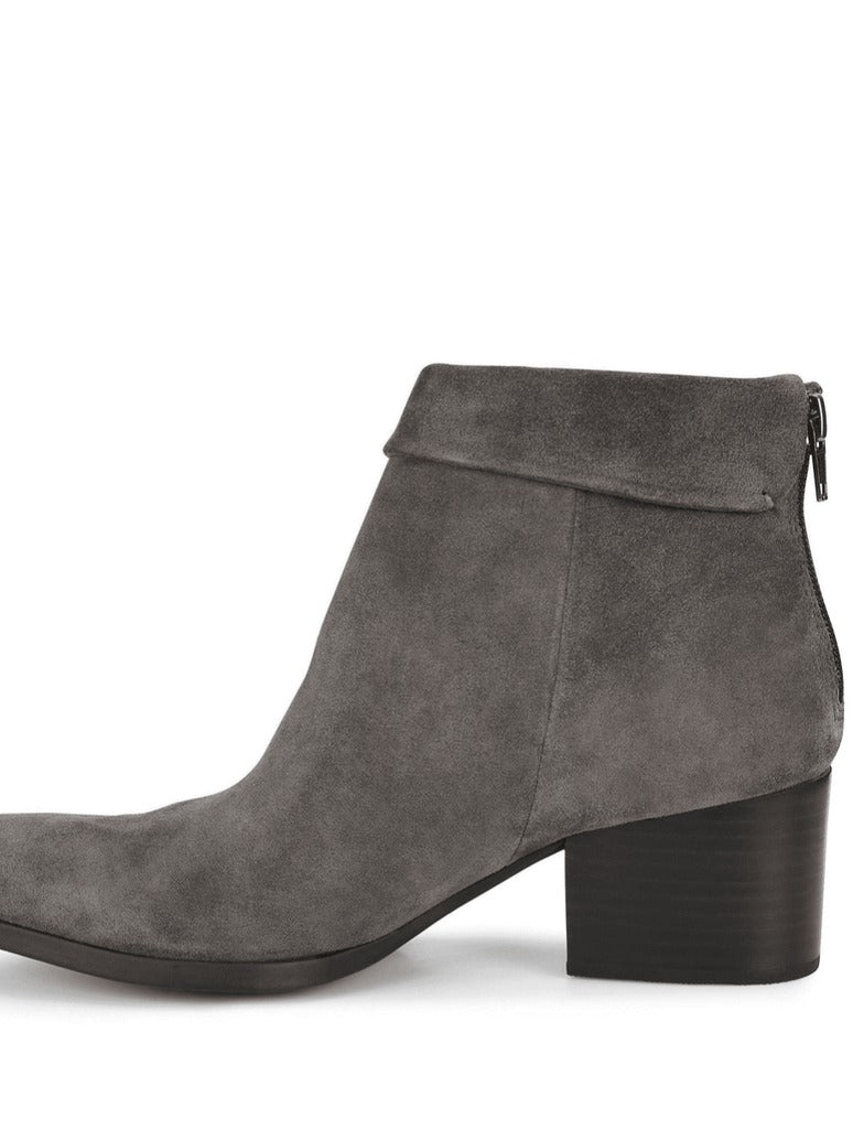 Born Abbe Ankle Bootie in Dark Grey