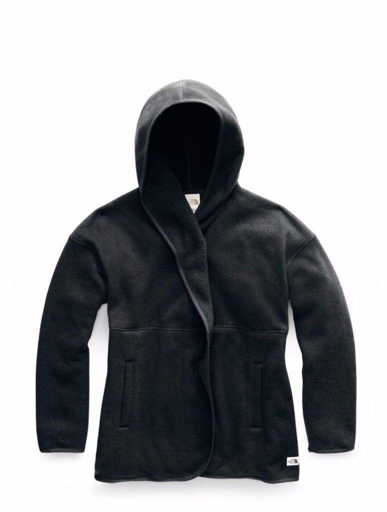 North Face Crescent Wrap in Black Heather