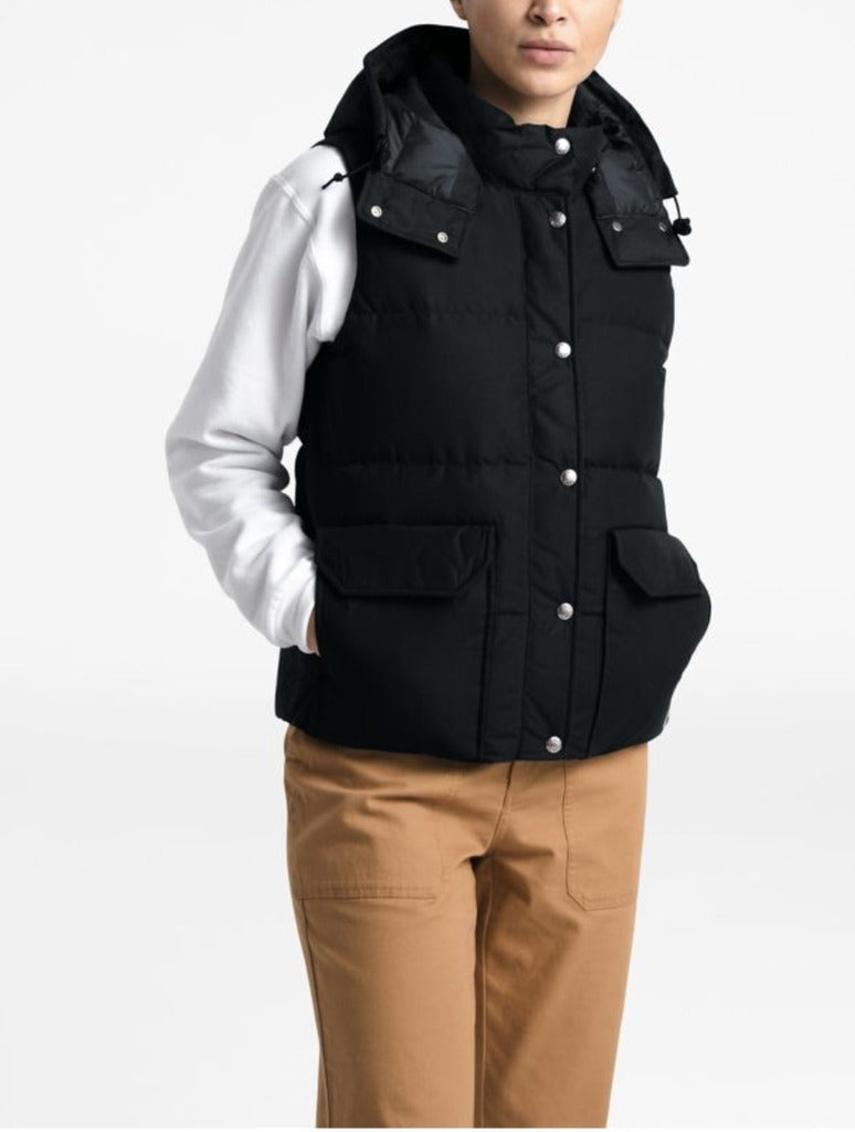 North Face Sierra Vest in Black