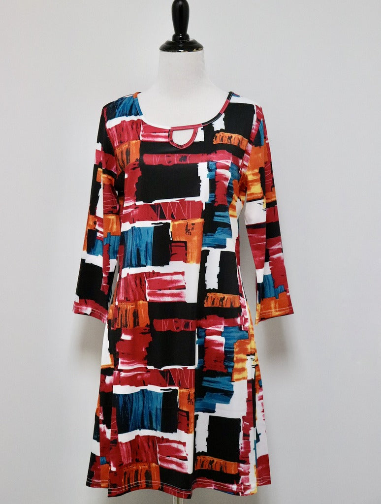 Adore Tunic Top in Multi