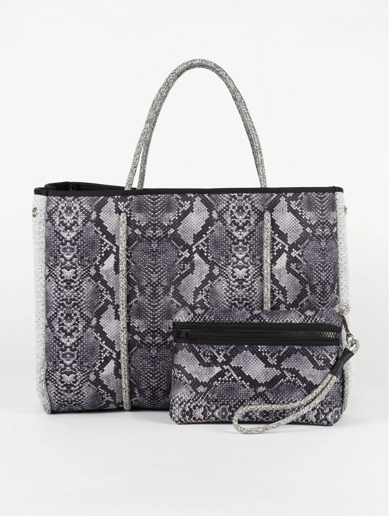 Haute Shore Greyson Rebel in Grey Python