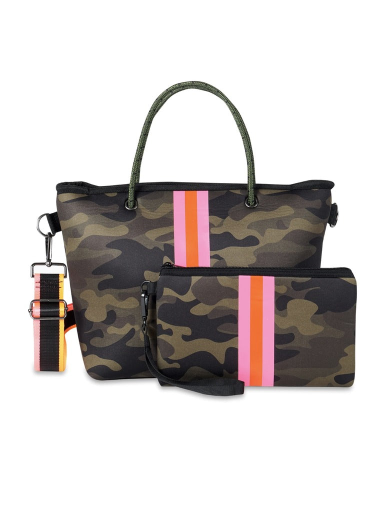 Haute Shore Ryan Fix in Camo/Pink & Orange