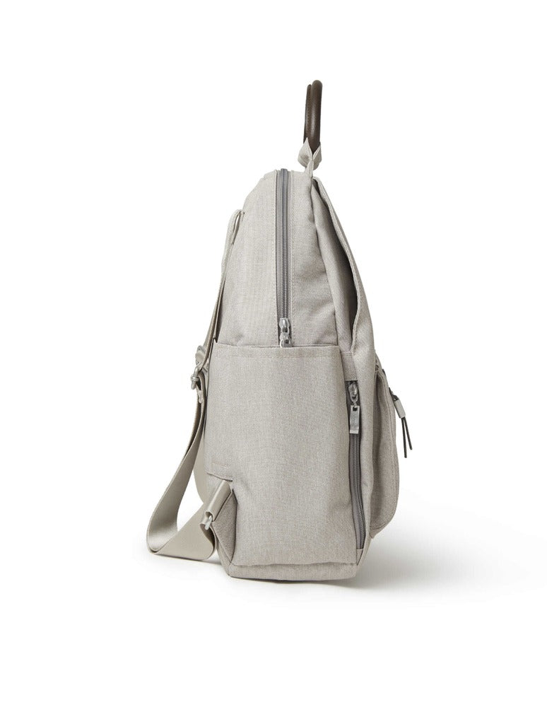 Baggalini All Day Backpack in Sand
