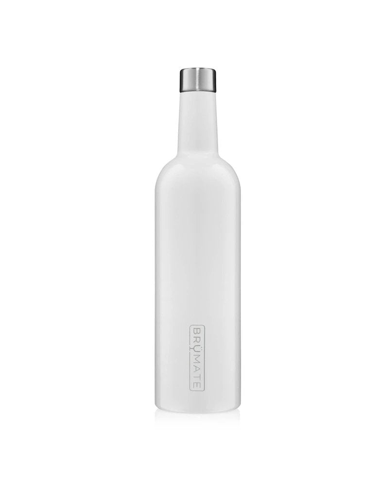 BrüMate Winesulator™ 25oz Wine Canteen in White