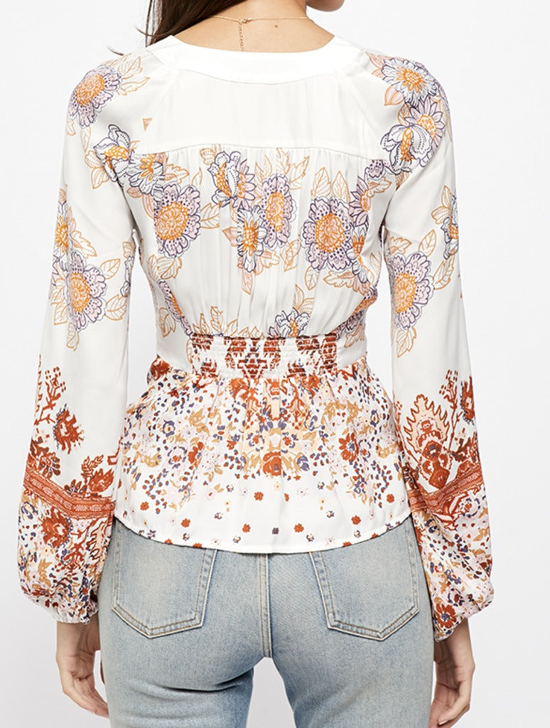 Free People Run Free Tunic in Cream