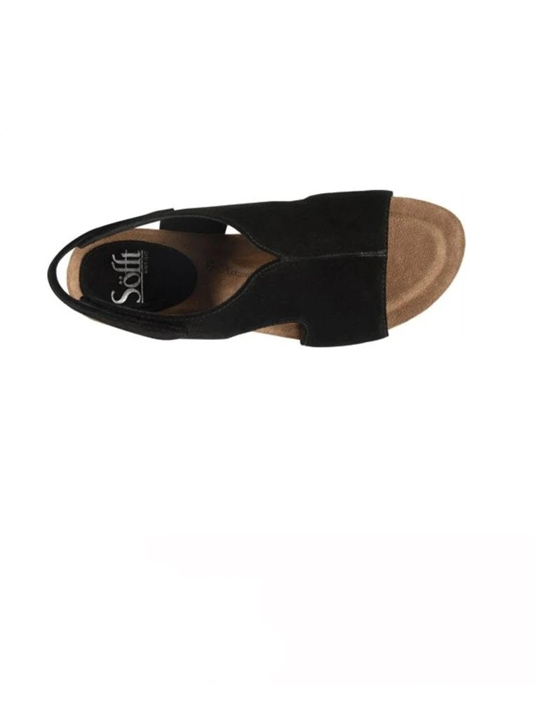 Sofft Chloee Wedge in Black