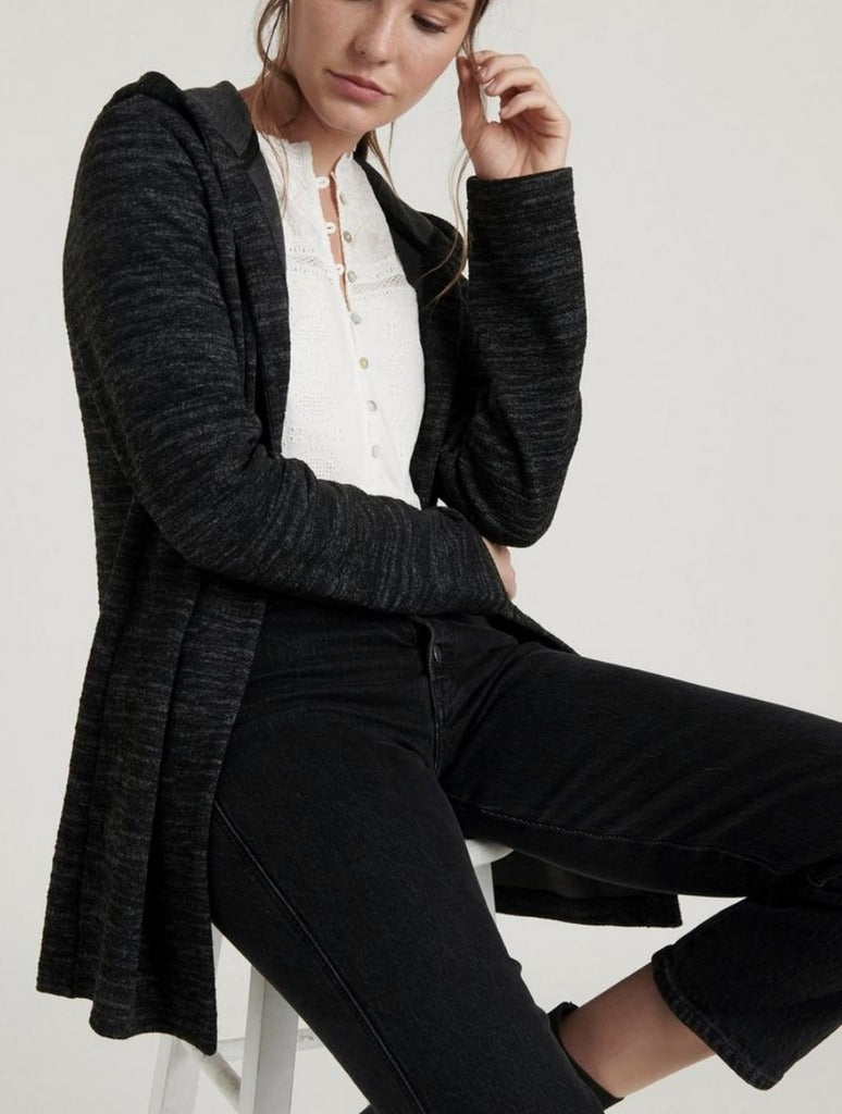 Lucky Brand Hooded Jacket in Black