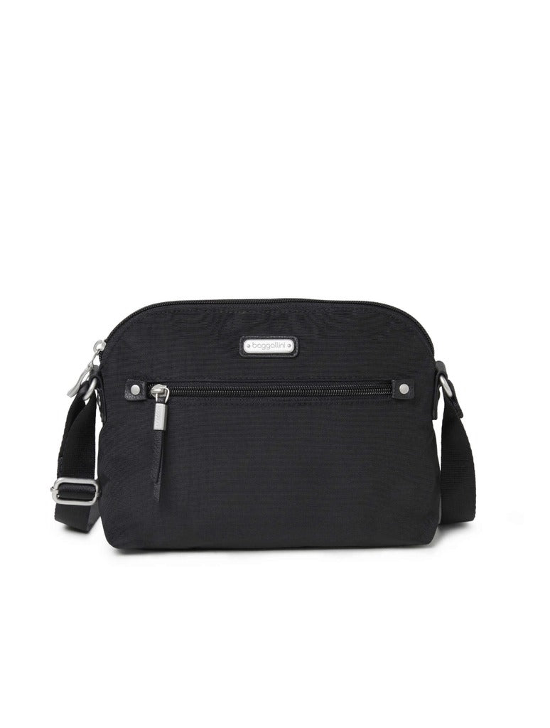 Baggalini Dome Crossbody in Black