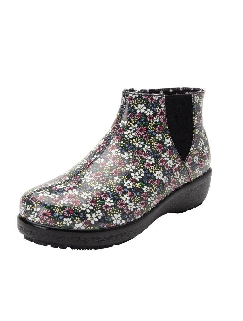 Alegria Climatease Rainboot in Wild Flower