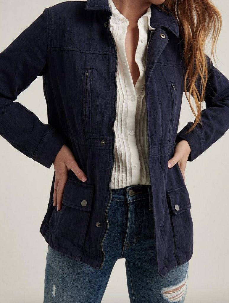 Lucky Brand Laurel Jacket in Navy