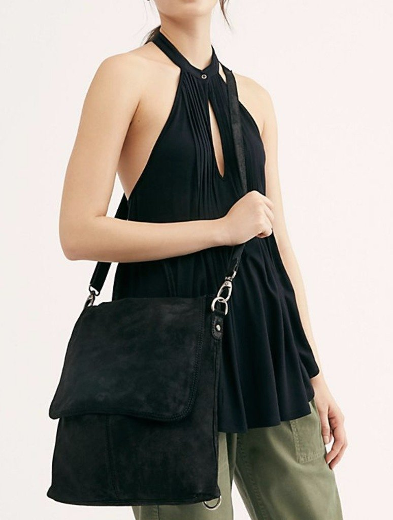 Free People Paris Backpack in Black