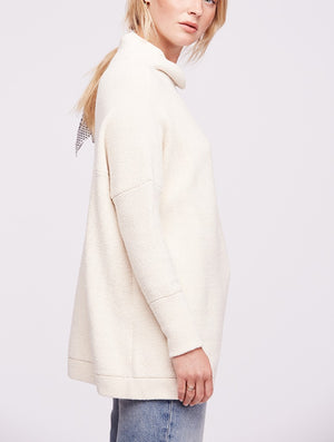 Free People Ottoman Tunic in Cream