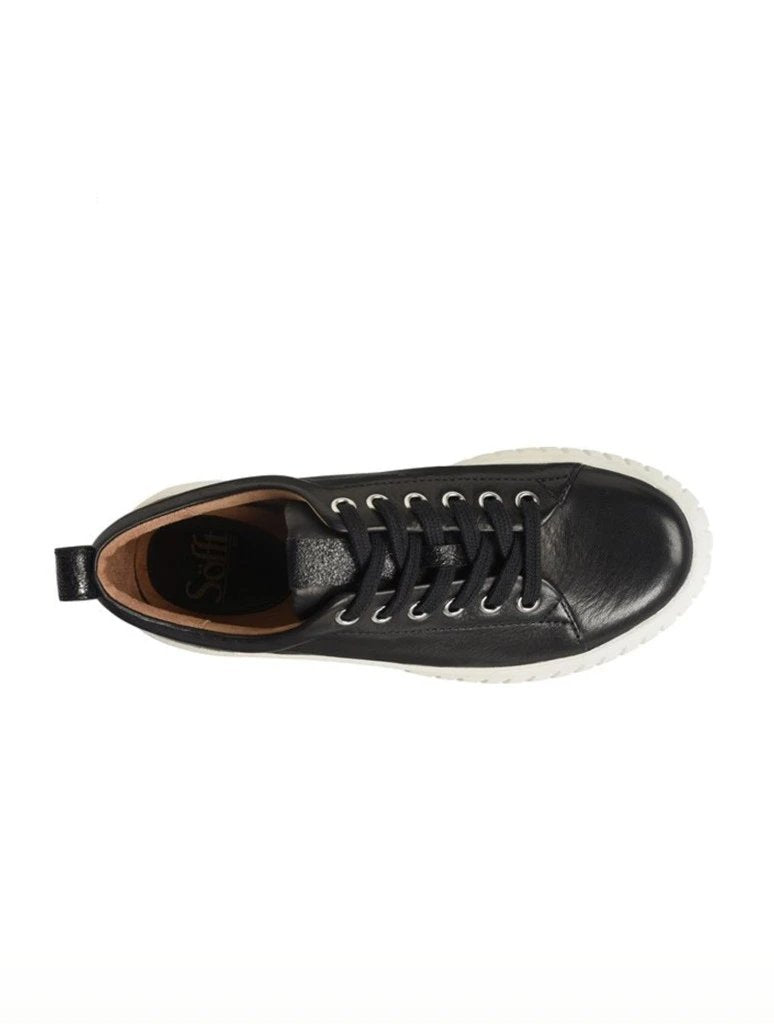 Sofft Pacey Lace Up Platform Sneaker in Black
