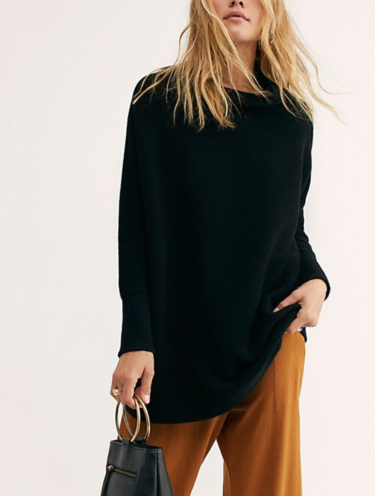 Free People Ottoman Tunic in Black