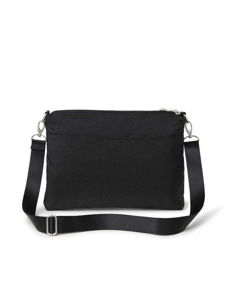 Baggallini 5 Blocks Crossbody in Black