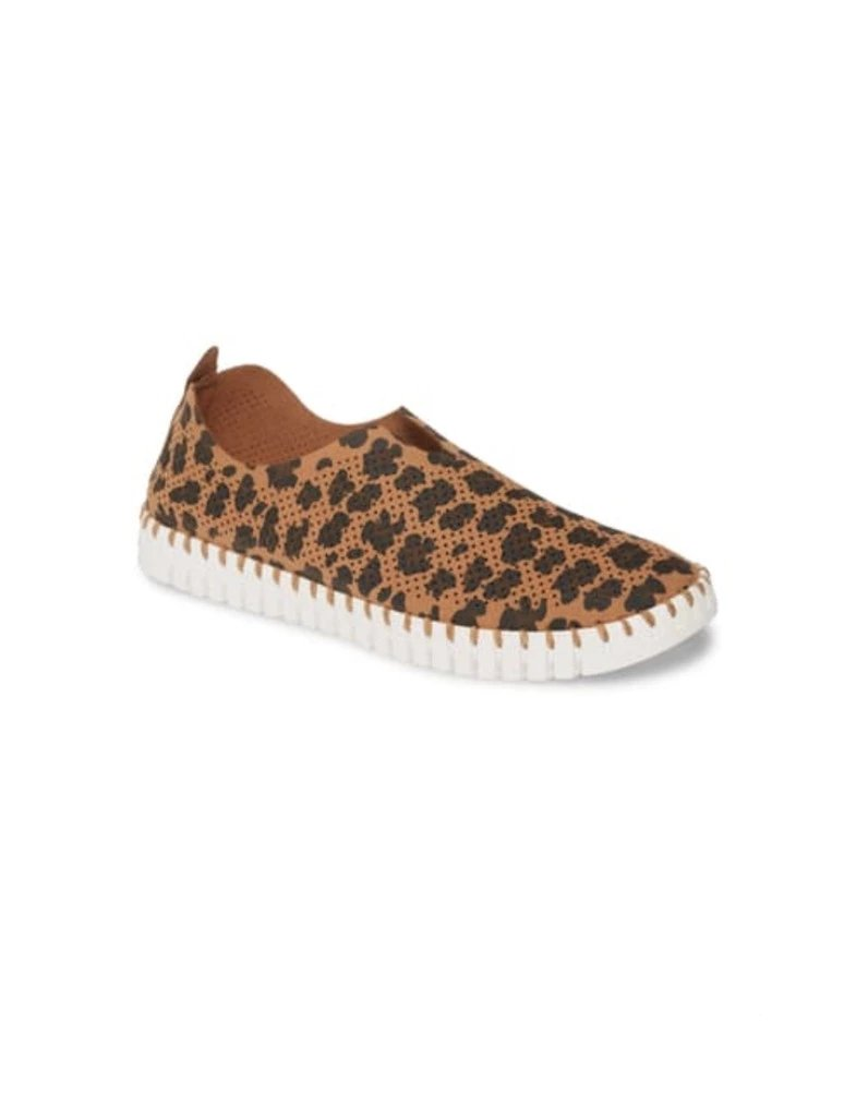 Ilse Jacobsen Tulip 139 Slip On in Leopard Brown
