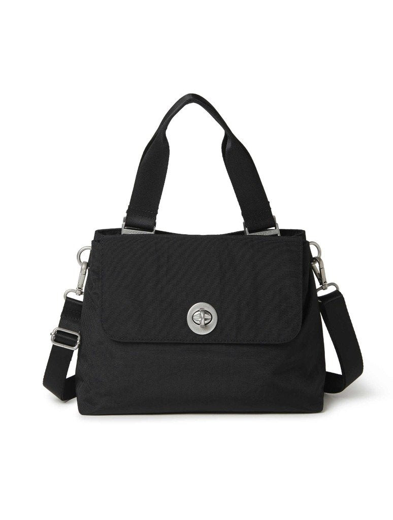 Baggalini Antwerp Satchel in Black