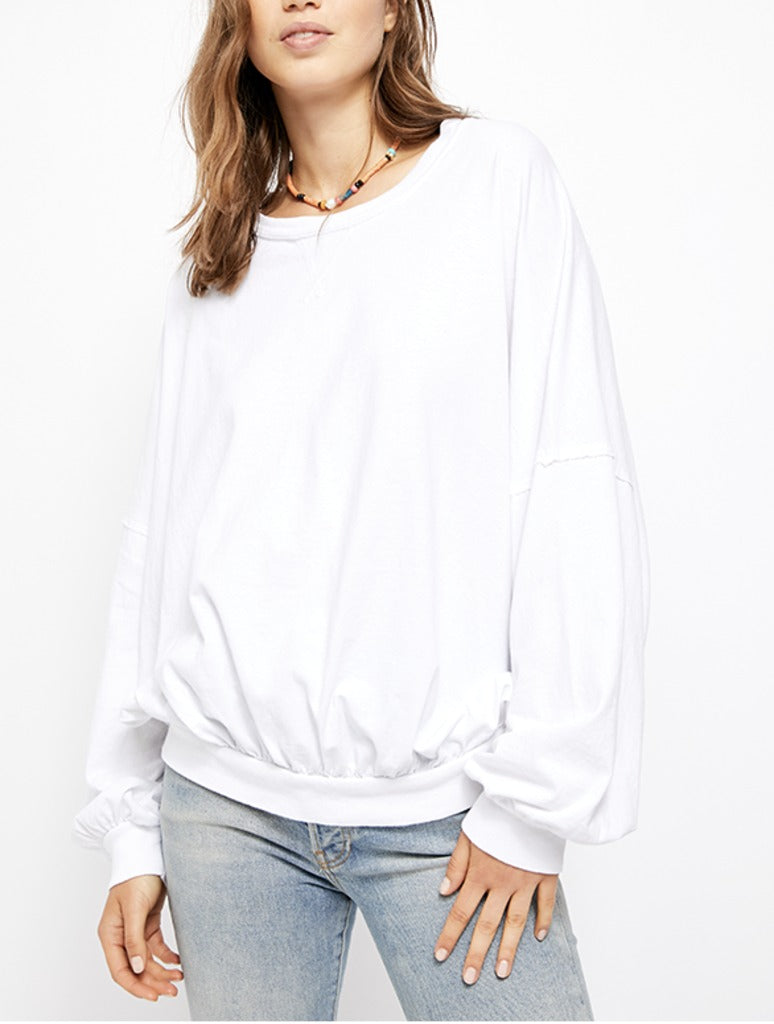 Free People 213 Tee in White