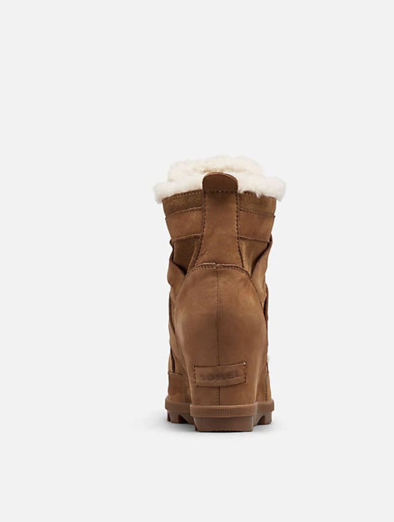 Sorel Joan of Arctic Wedge II in Shearling Camel Brown