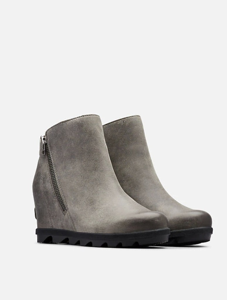 Sorel Joan Of Arctic Wedge II Zip Boot in Quarry