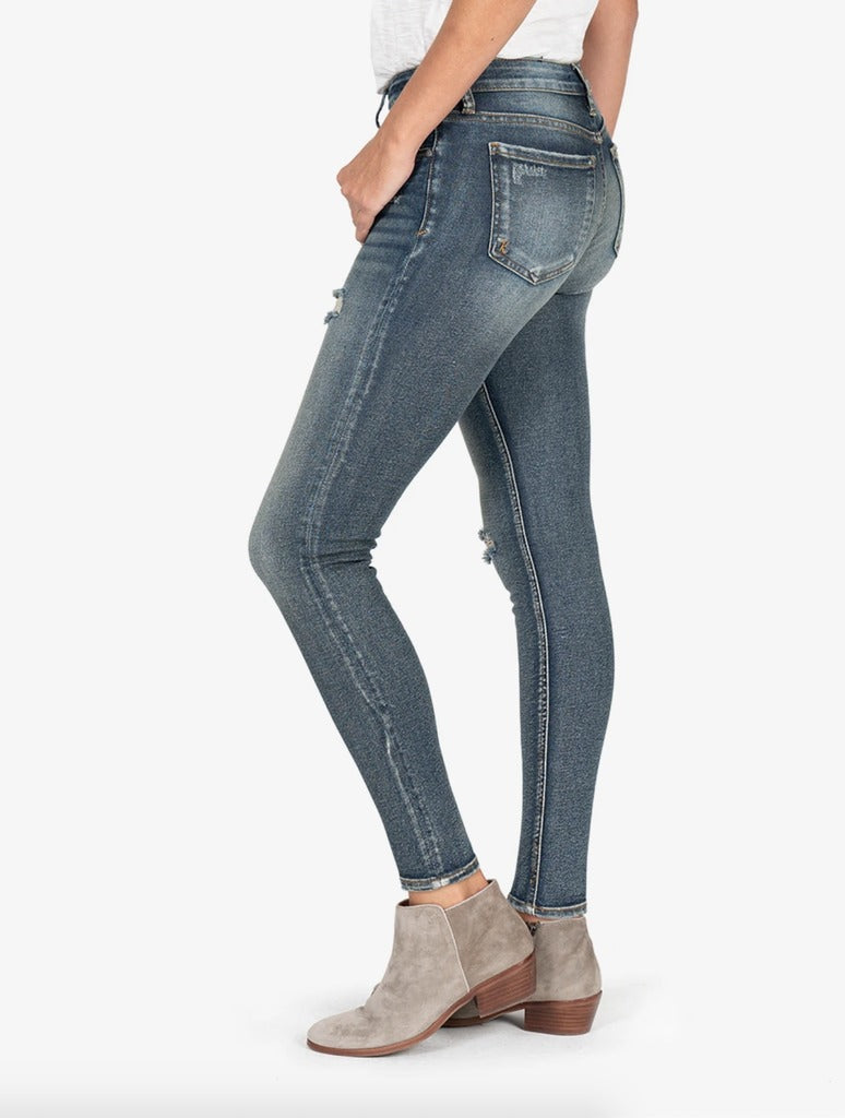 Kut from the Kloth Donna Ankle Skinny in React Wash