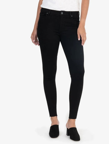 Liverpool Abby Ankle Skinny Perfect in Black Rinse