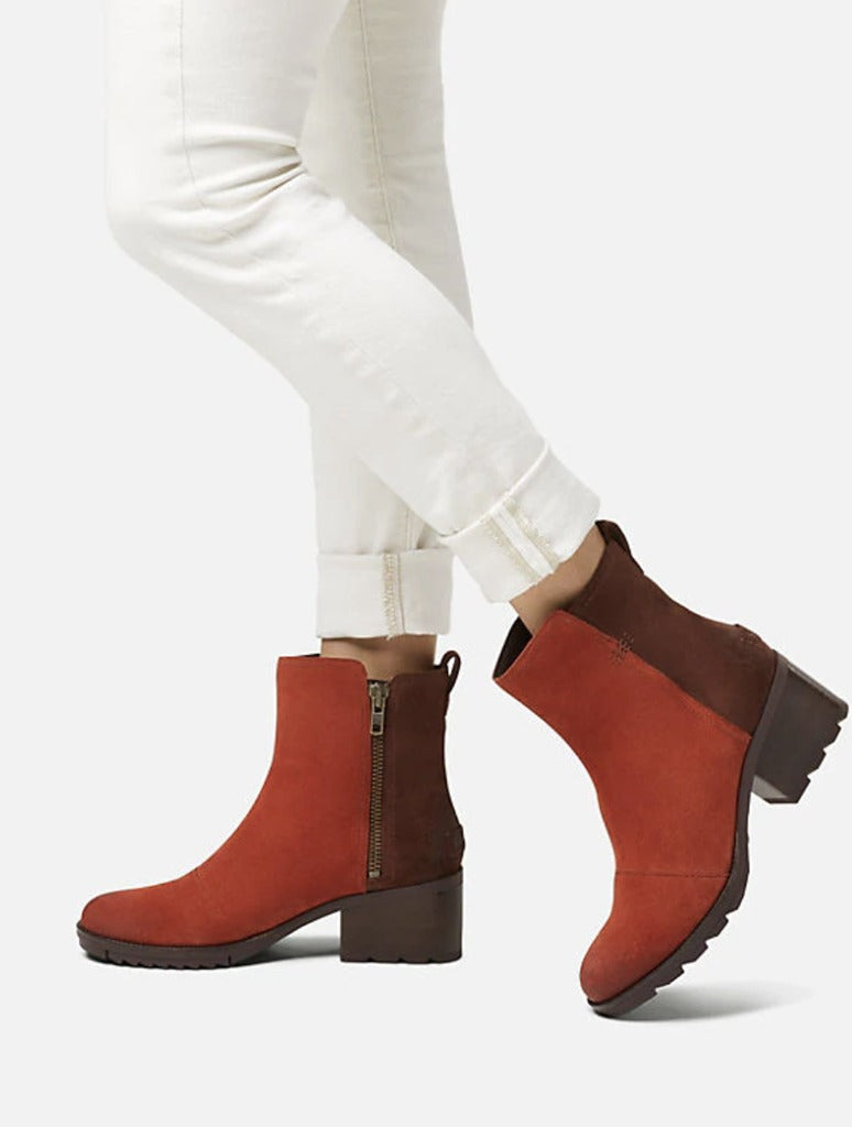 Sorel Cate Bootie in Red