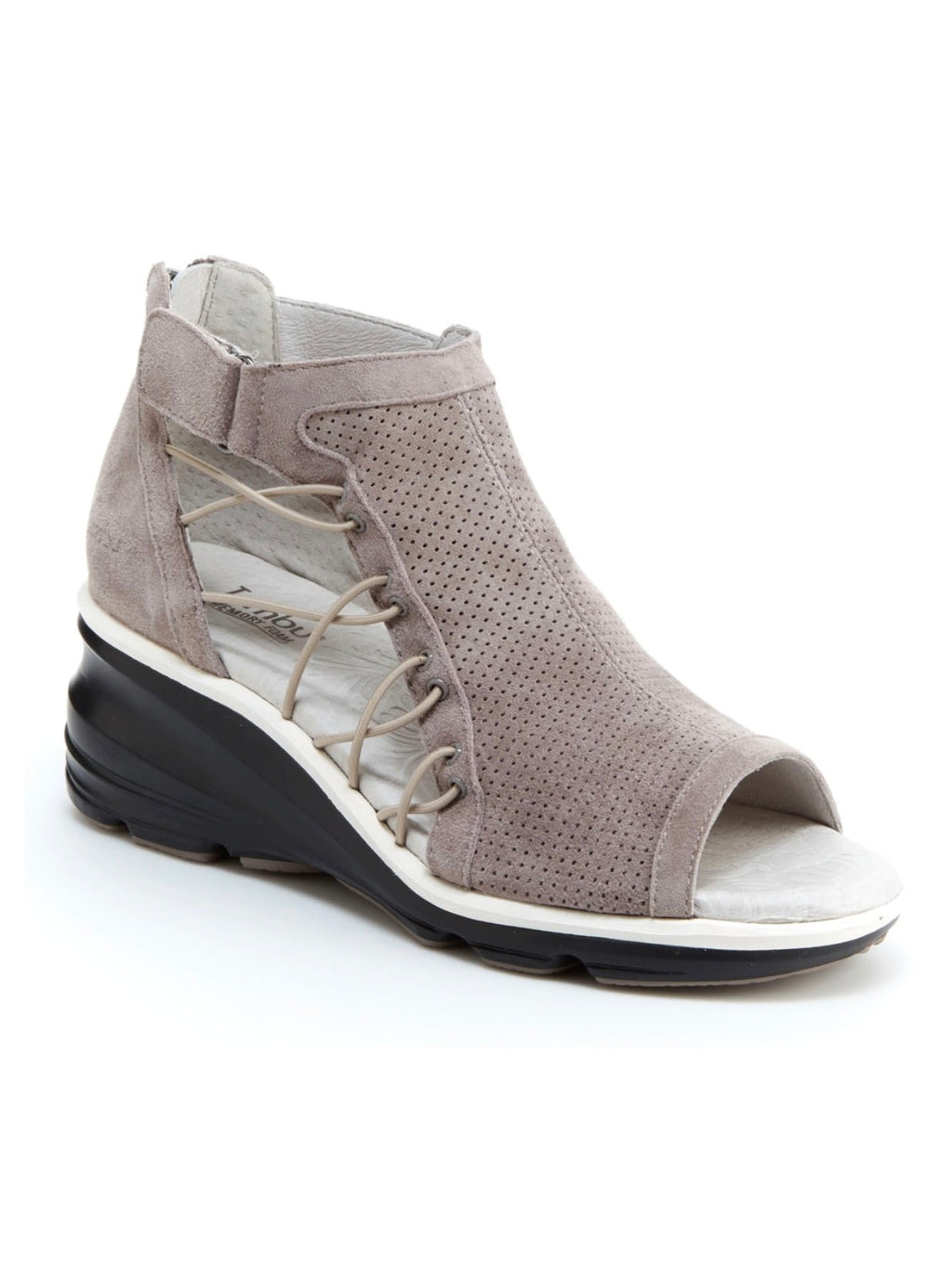 Jambu Naomi Sport Wedge in Light Taupe