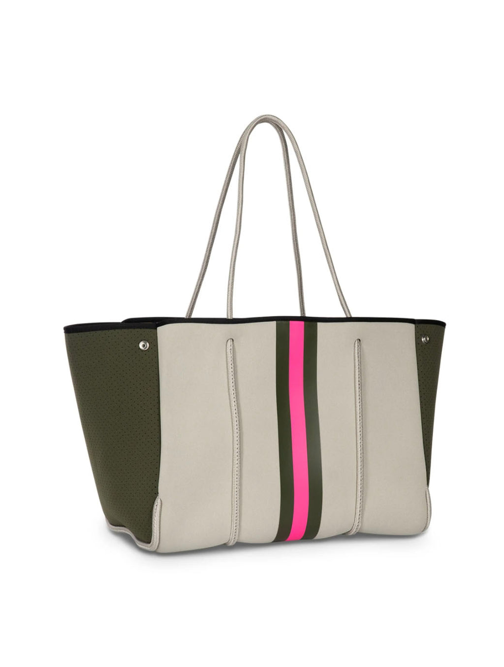 Haute Shore Greyson Swank in Putty with Green and Pink