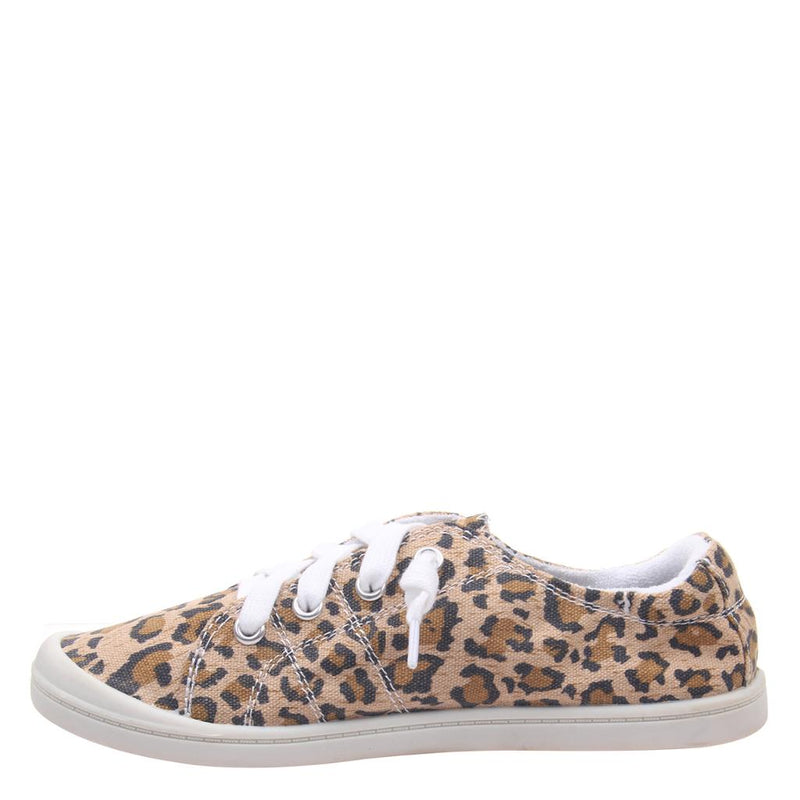 JELLY BEAN in LEOPARD PRINT, left view